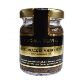 Minced Black Summer Truffle (Tuber aestivum), 50g
