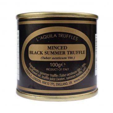 Minced Black Summer Truffle (Tuber aestivum), 100g