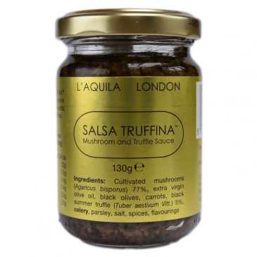 """Salsa Truffina"", Black Truffle and Champignon Mushroom Sauce"