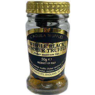 Whole Black Summer Truffles (Tuber aestivum), 50g