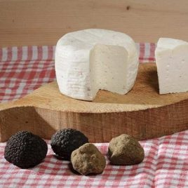 Pecorino Cheese with White Spring Truffle (Tuber Albidum/Borchii)