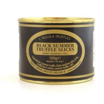 Black Summer Truffle Slices (Tuber Aestivum), 120g
